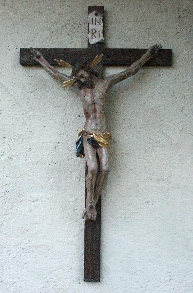 fertig restaurierter Christus